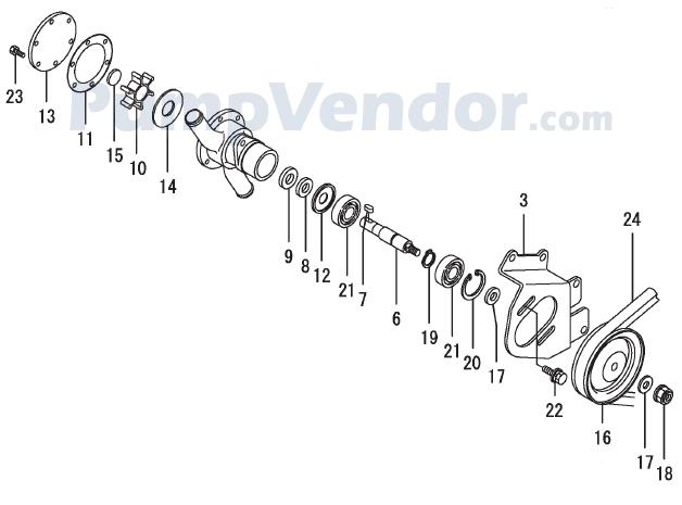 Yanmar 129579-42502 Parts List
