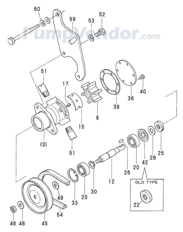 Yanmar 721575-42702 Parts List