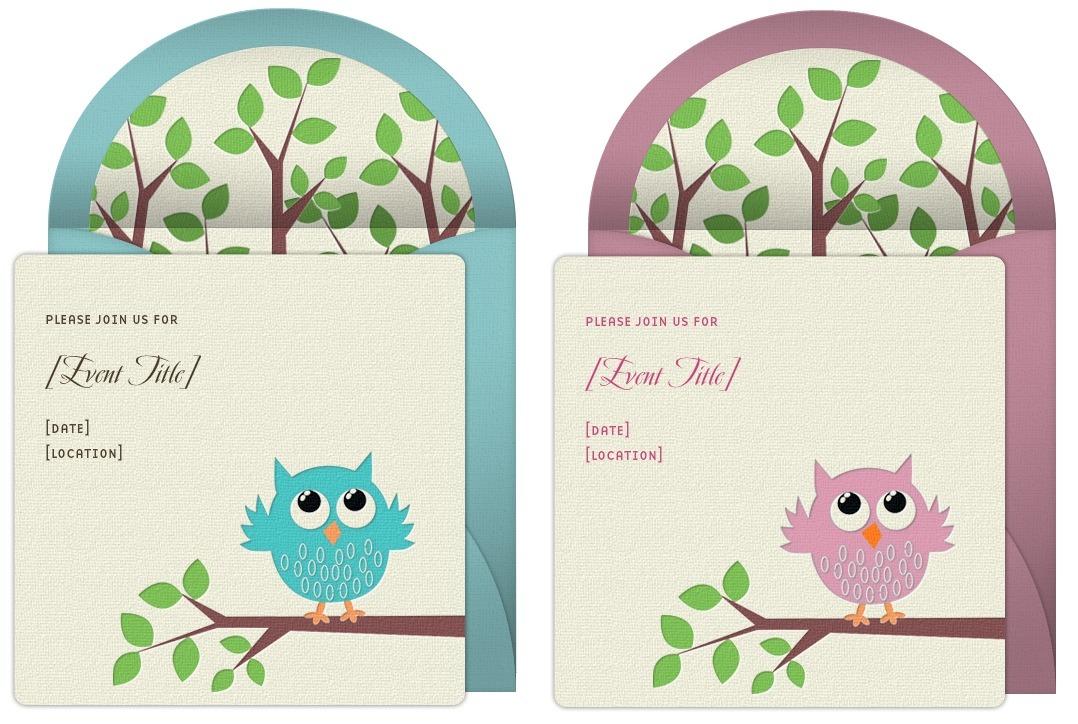 Owl Baby Shower Ideas