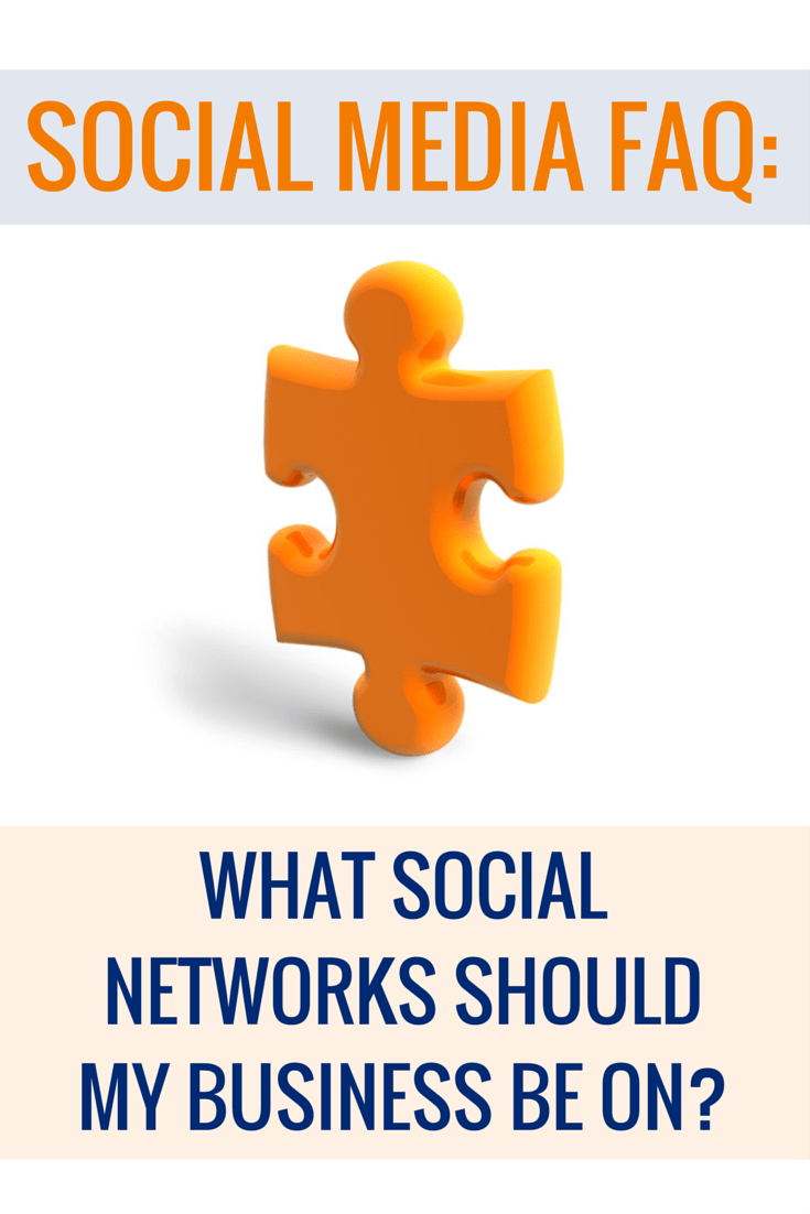 What Social Networks Should My Business be On