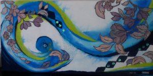 puncherij, wanddecoratie, decoaratie, creatief, naaldkunst,