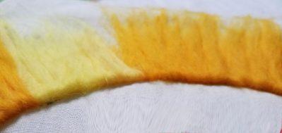 Oranje geel detail