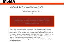 Kraftwerk Tickets at MoMA – The Debacle