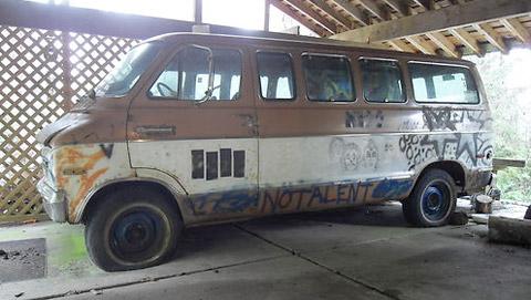 Buy Kurt Cobain's Van on eBay