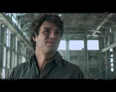 The Avengers: Deleted Scene With Bruce Banner or The Hulk?