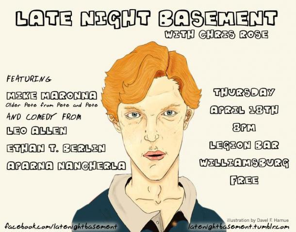 late night basement pete