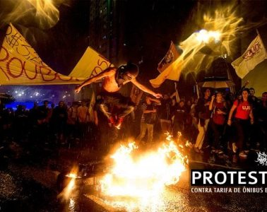 'Tis Brazil: The Reverberation of the Protests Become Art Intervention