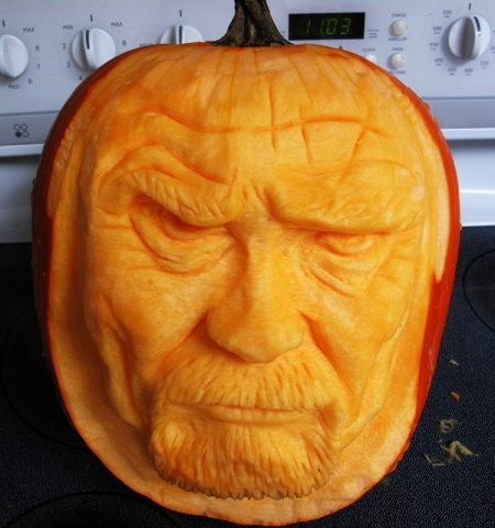 Breaking Bad O' Lantern Just in Time for Halloween