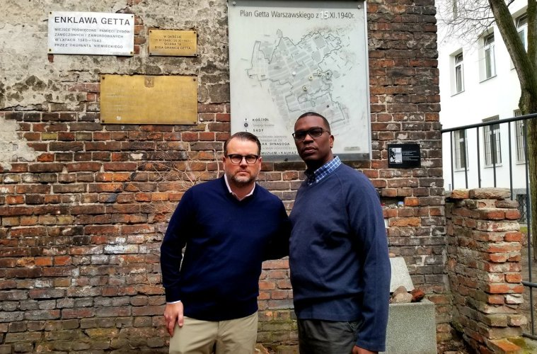 Reflections from Poland with Pastor Gil Monrose and Evan Bernstein