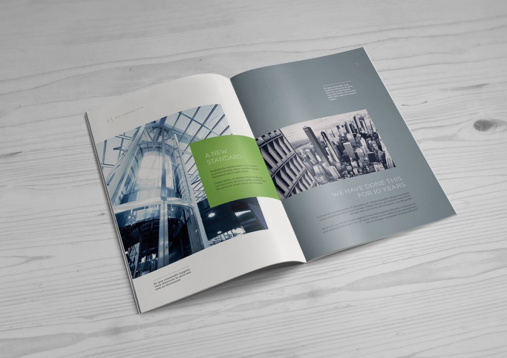 A4 Brochure Catalog Mock Up PuneDesign