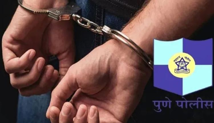 Pune Crime Branch Police | Vicious accused arrested for celebrating birthday by cutting cake with sword in Yerwada, Pune