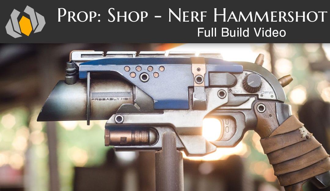 Nerf Gun Hammershot Mod Punished Props