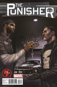 Punisher Vol #9 B - Tim Duncan Variant