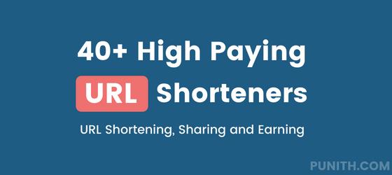 High Paying URL Shorteners