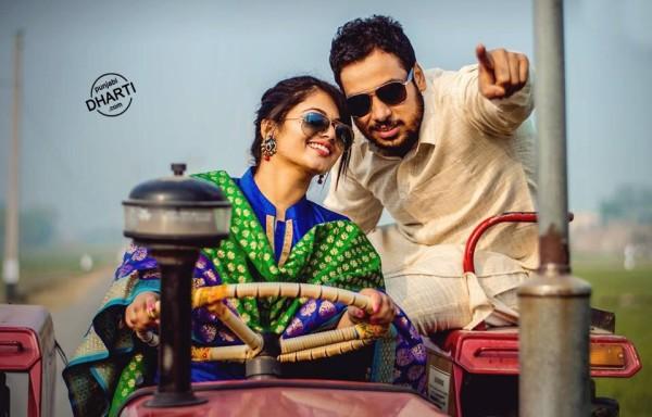 cute punjabi couple on