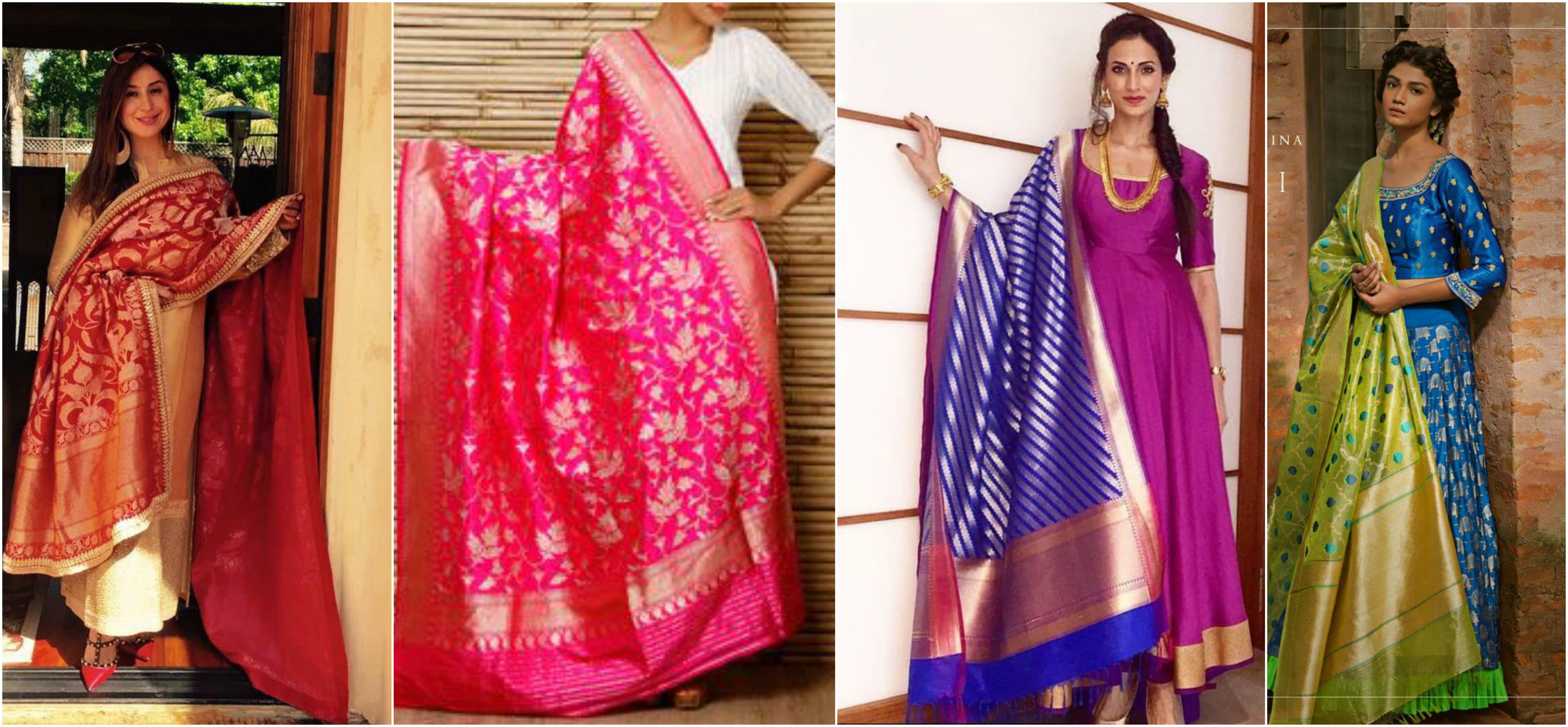 How To Style UP Your Simple Salwar Kameez