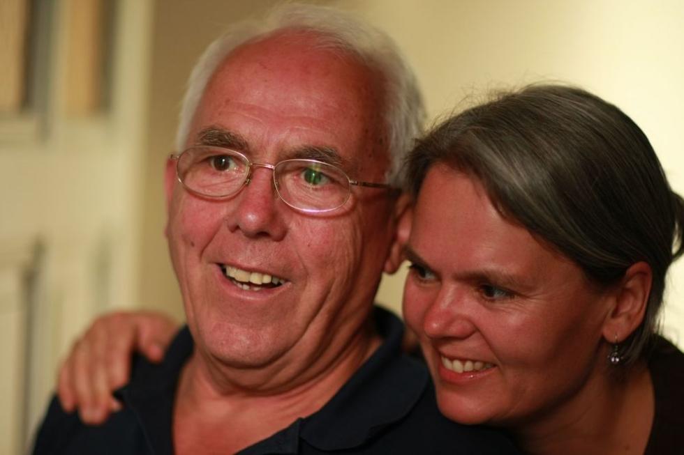 Boris geboren Opa Wim en zus Marieke