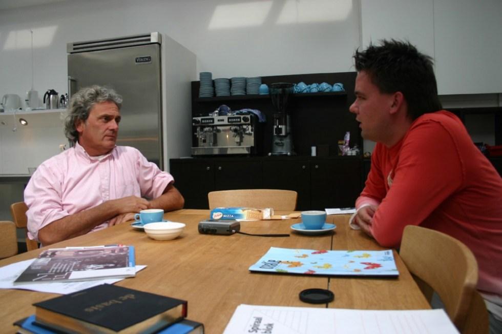 Simon Werkendam en Henk-Jan Winkeldermaat