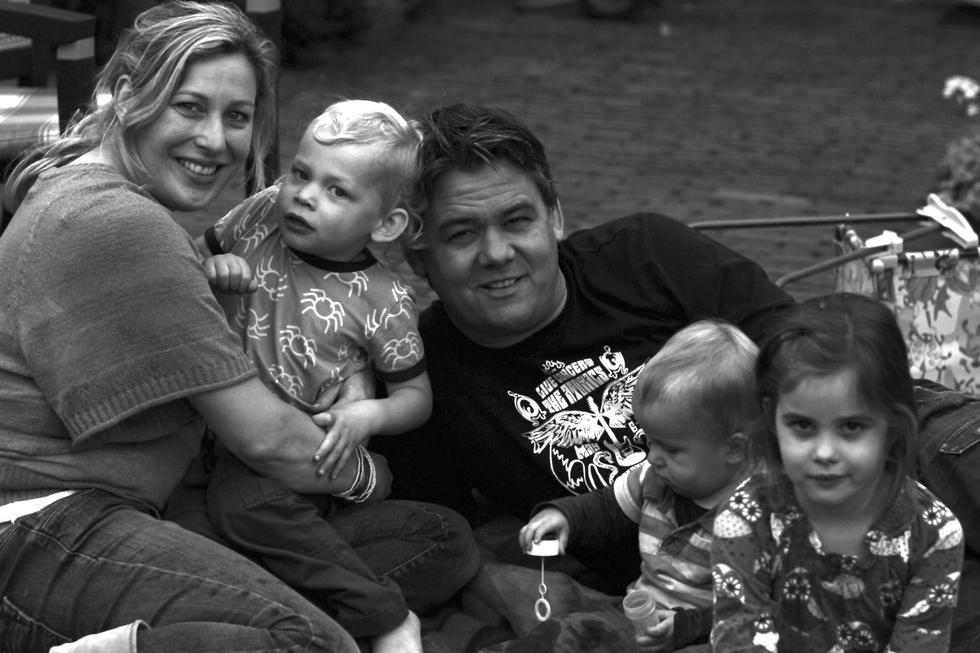 happy_family_zwart_wit