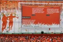 Grootste social media backchannel op event