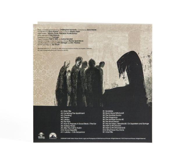 rosemary s baby back cover web jpg Vinyl reissue announced for Rosemarys Baby original score
