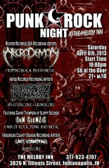 April 6th flyer - full color Necrodemon - RS