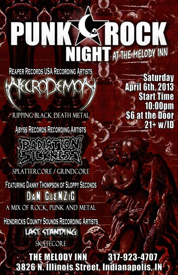 April 6th flyer - full color Necrodemon - RS