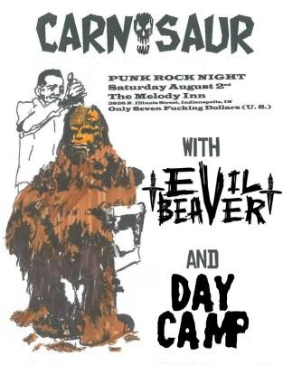 Evil Beaver 9-2-14 poster