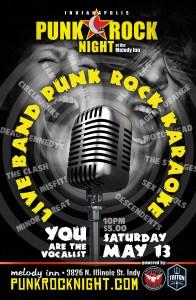 Live Band Punk Rock Karaoke! @ The Melody Inn | Indianapolis | Indiana | United States