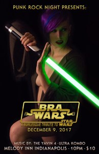 BRA WARS: a Burlesque tribute to Star Wars: Burlesque, The Yavin 4, Ultra Kombo @ The Melody Inn | Indianapolis | Indiana | United States
