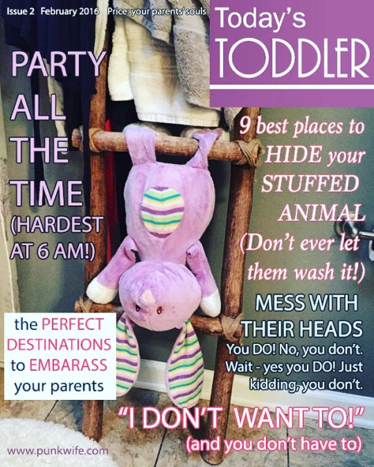 Toddler Life Magazine, February Edition