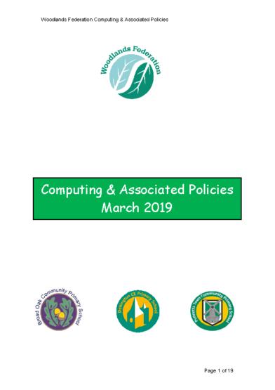 Computing & Associated Policies