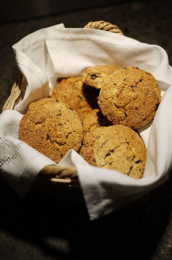 Scones cioccolato e mandorle la ricetta di Alessia Vicari