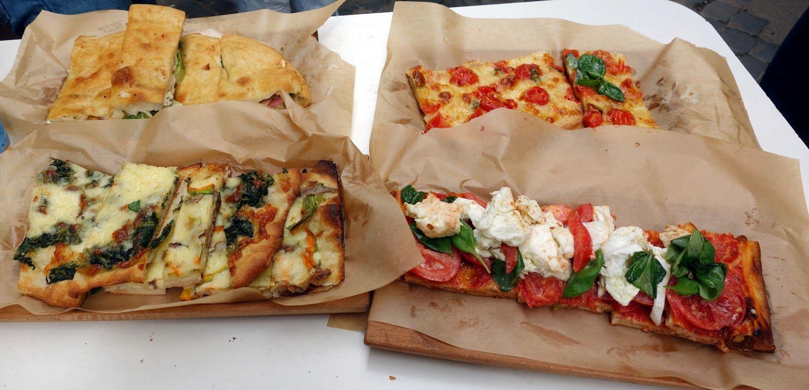 Le migliori 10 pizze al taglio di Roma