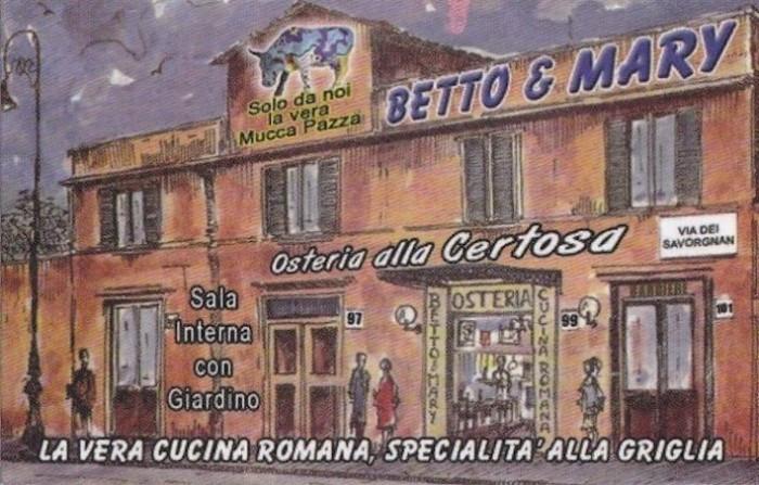 Betto e Mary a Roma