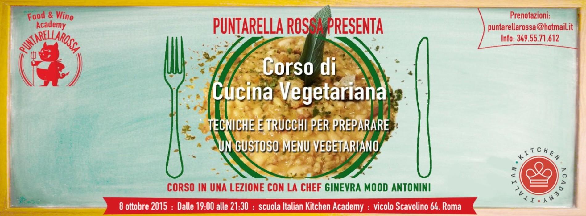 Corso cucina vegetariana Roma Puntarella