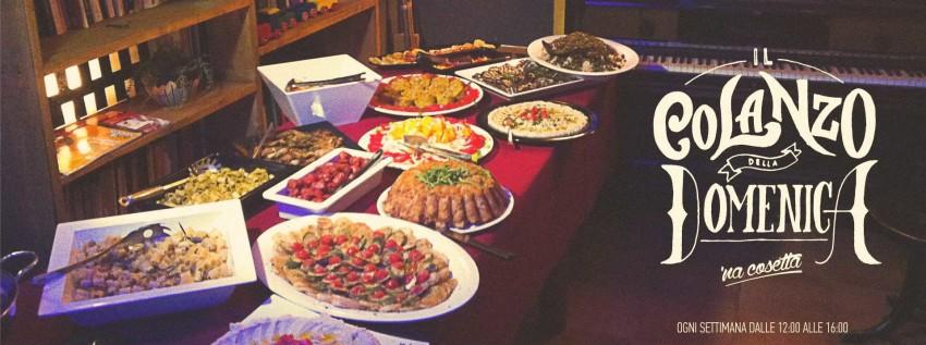 il colanzo della domenica brunch a roma