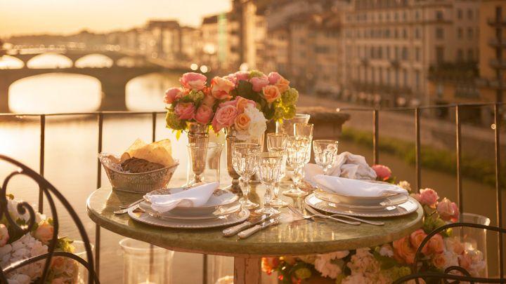 Ristoranti romantici Firenze a cena con larte