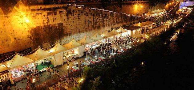 sagre lazio 2015 mercatini lungotevere roma