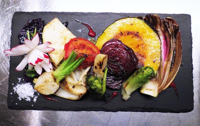 Piatto vegetariano al Forno