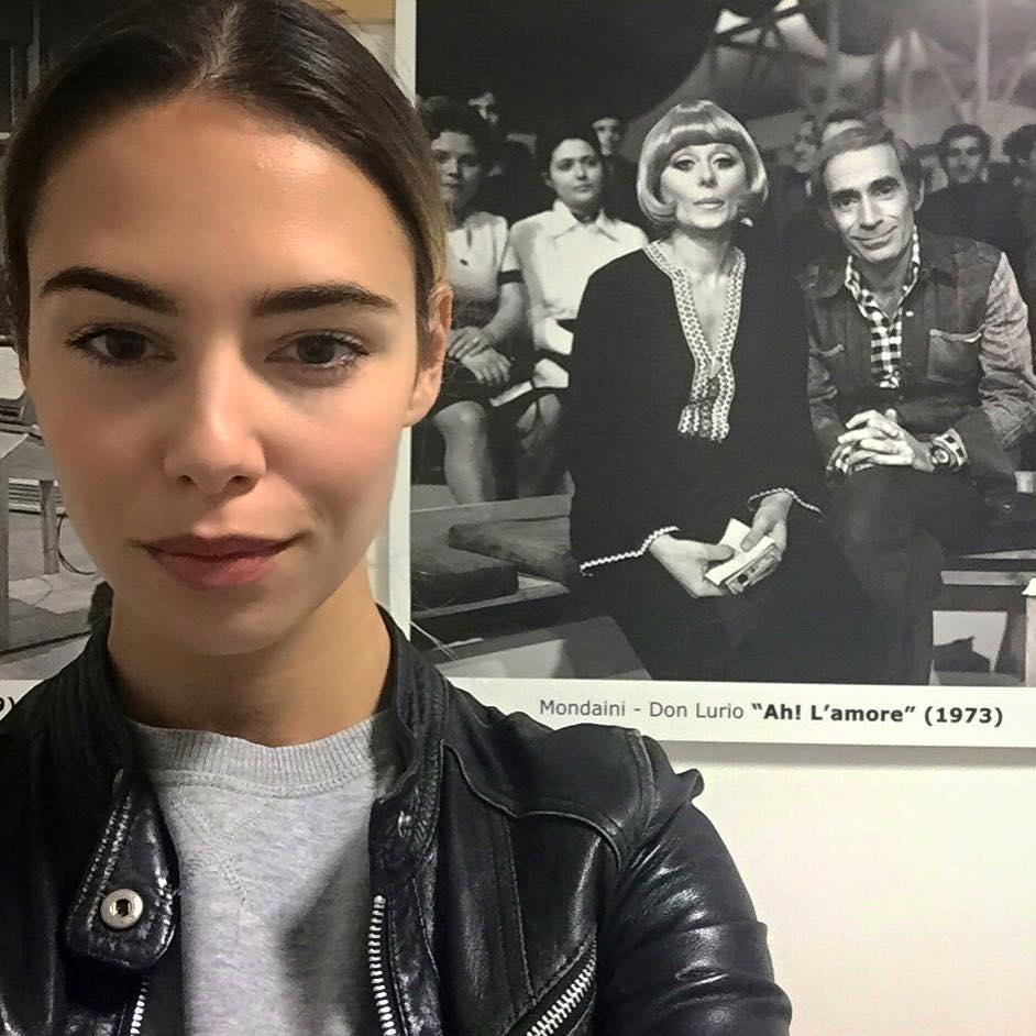 Melissa Greta Marchetto Quelli che il calcio A Milano mangio bufala e nduja E per la linea