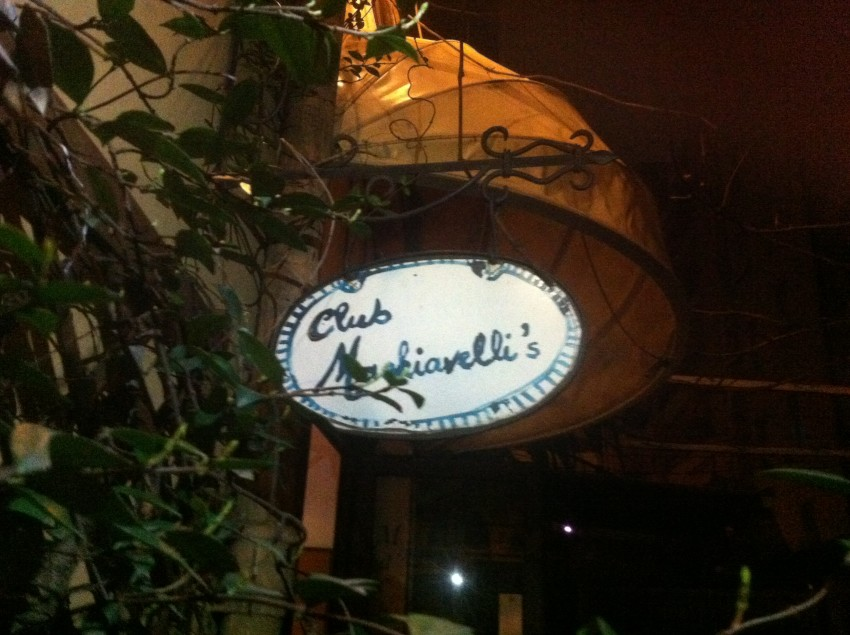 Machiavelli's Club Roma