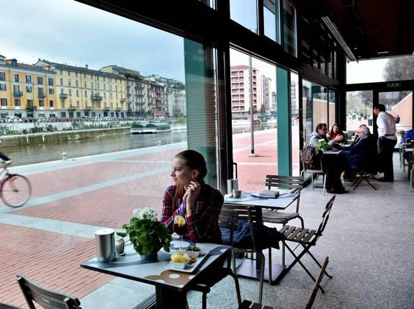 Mangiare allaperto a Milano terrazze e giardini di primavera  Puntarella Rossa