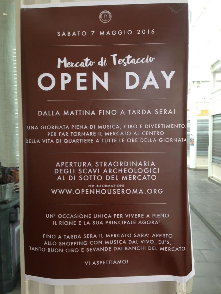 mercato di testaccio open day