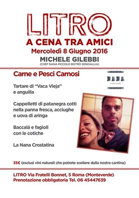 eventi roma giugno 2016
