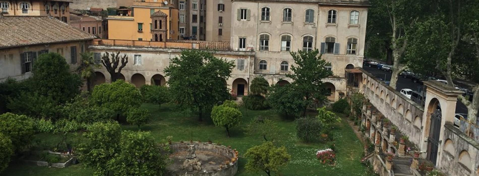 H Eitch Ripa Roma aperitivo in giardino Trastevere