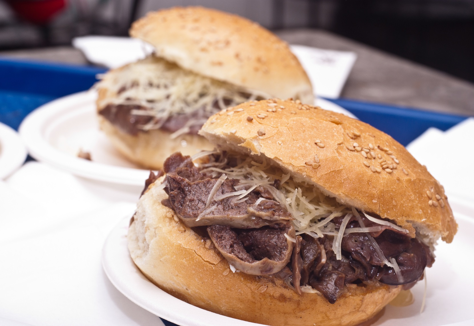 Dove mangiare a Palermo  pane con la milza  street food