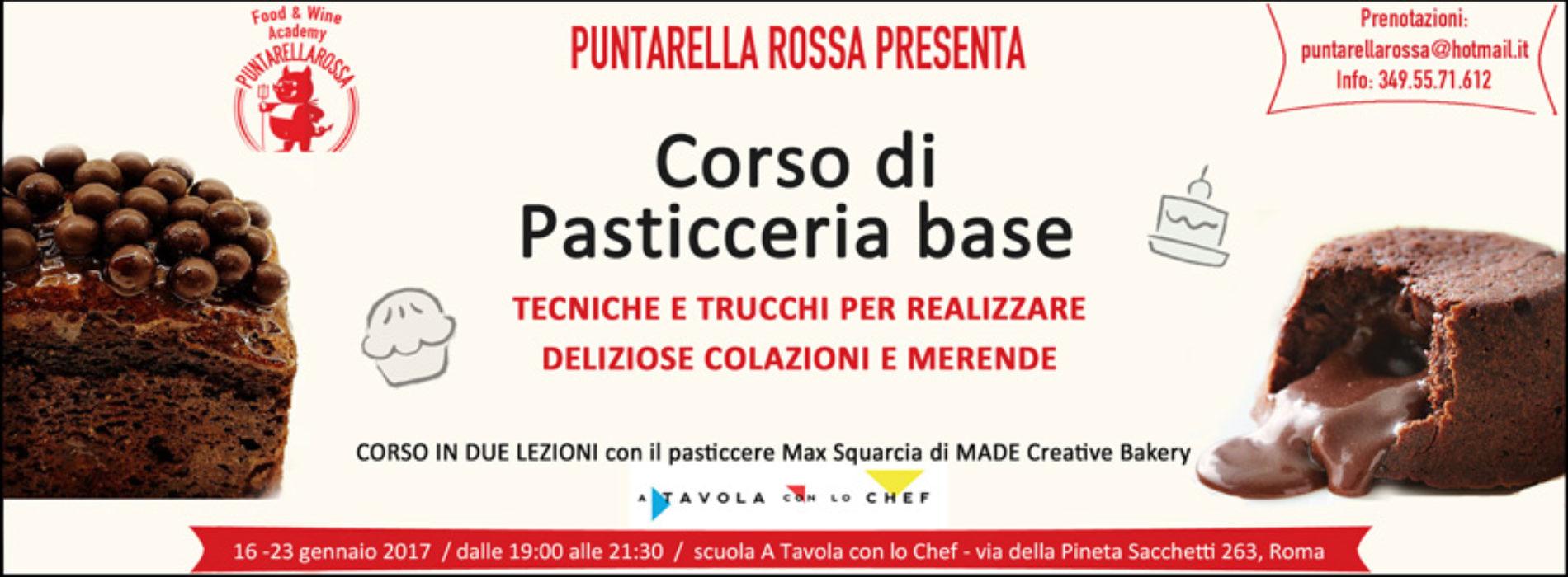 Corso di pasticceria Roma 2017