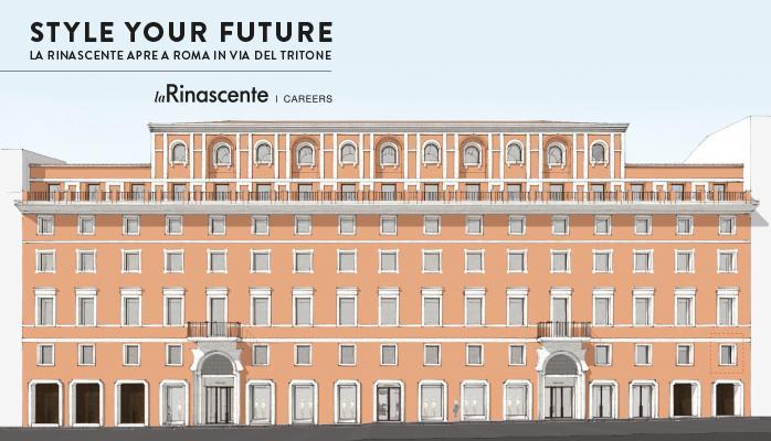 Rinascente Roma via del Tritone con Di Giacinto Temakinho e Vivi Bistrot