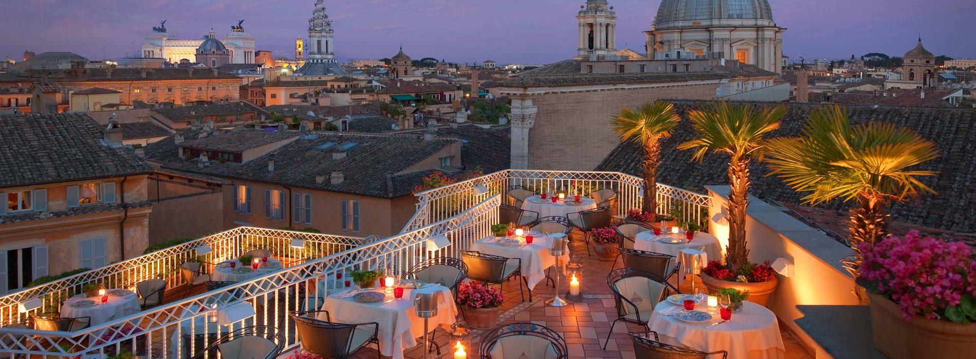 I migliori rooftop di Roma terrazze panoramiche in centro per mangiare e bere allaperto